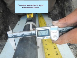 Corrosion Assessment of Anchors